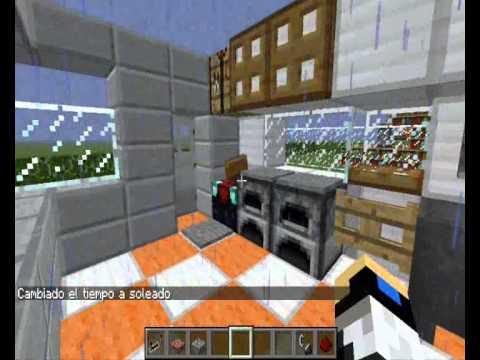 Como crear muebles para decorar tus casa en minecraft doovi for Como hacer muebles en minecraft