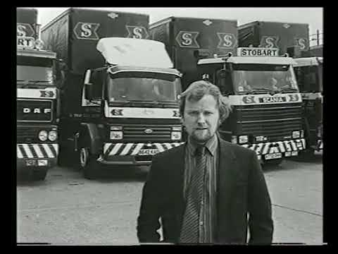 The Story of Eddie Stobart Ltd.  (VHS Documentary - Digitally Remastered)