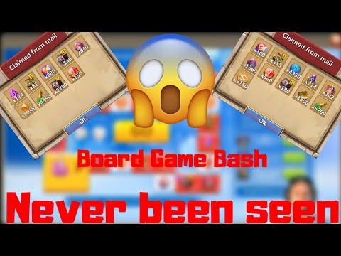 Board Game Bash   MOST INSANE EVENT REWARDS   Castle Clash