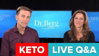 Join Dr. Berg and Karen Berg for a Q\u0026A on Keto của Dr. Eric Berg DC 0 lượt xem