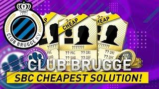 pro league club brugge sbc cheapest solution   squad building challenge guide   fifa 17