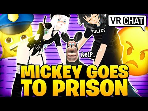 Mickey Gets Arrested...