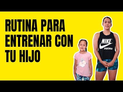 Rutina de Ejercicios que Puedes Hacer Desde Casa con tu Hijo   Ser Fitness 💪