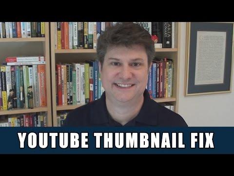 YouTube Custom Thumbnail Not Showing