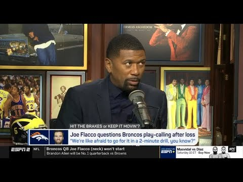 Jalen react to Joe Flacco questions Broncos play-calling after loss | Jalen & Jacoby 10/28/2019
