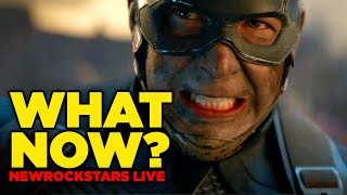 Avengers Endgame REACTION - What Happens Now? #NewRockstarsLive