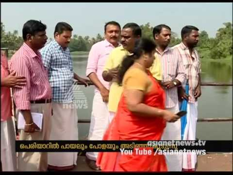 Wastes shedding at Periyar; Drinking water crisis at Kochi