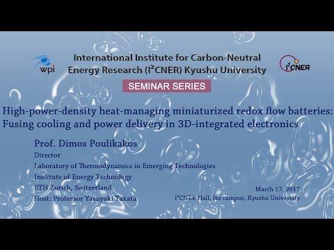 2017/03/17 I²CNER Seminar Series Prof.Dimos Poulikakos