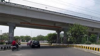 Drive from Dabri to Dwarka Sector 16C - Delhi, India