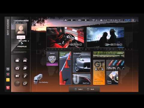 Lets Play Gran Turismo 5 - Part 1!
