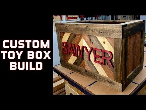Diy custom toy box / How to make
