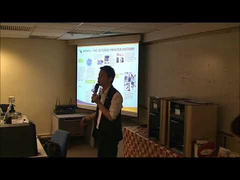 3D Printing Industry Specific Enhancement Workshop – Food & Beverage Part 2