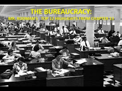 Where in the Bureaucracy am I? The Bureaucracy of American Government