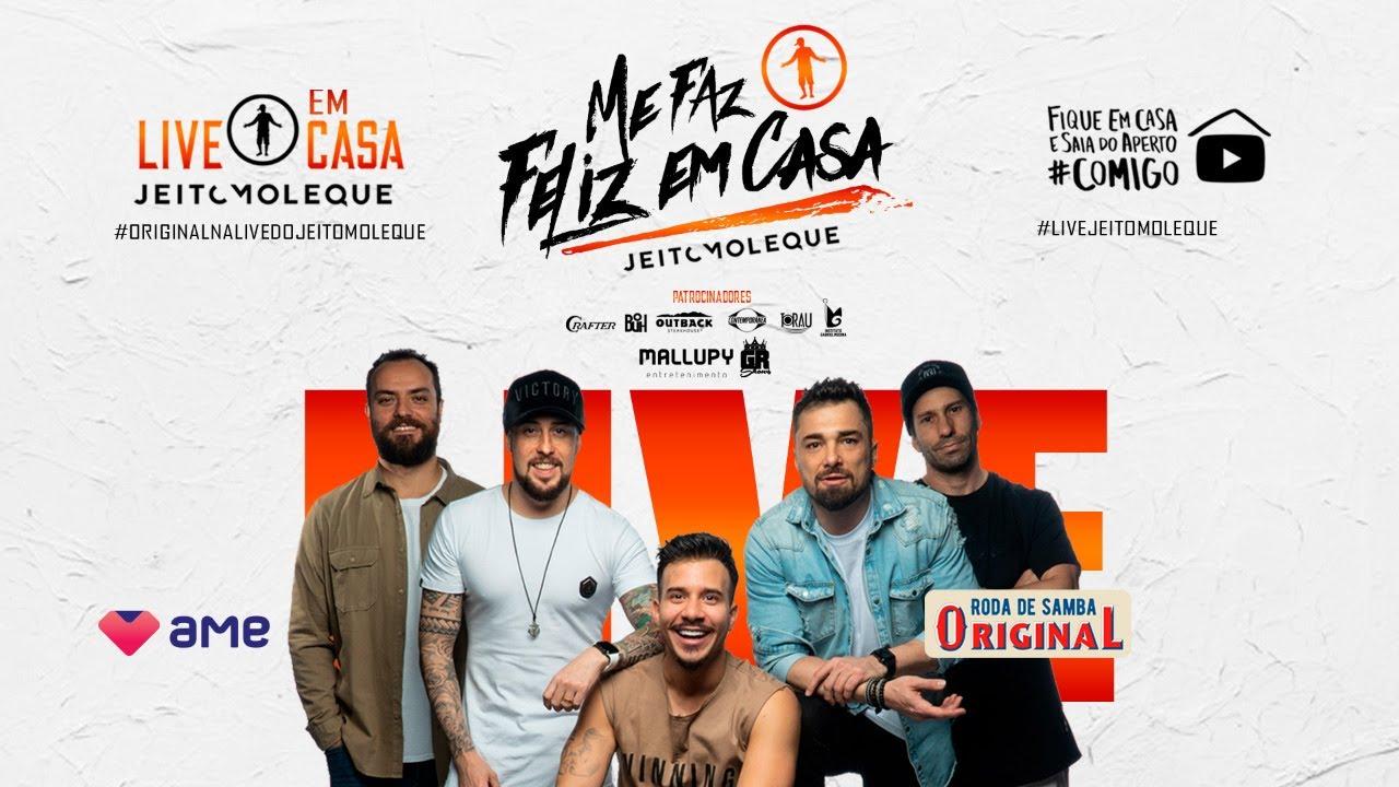 Live Jeito Moleque | #FiqueEmCasa e Cante #Comigo