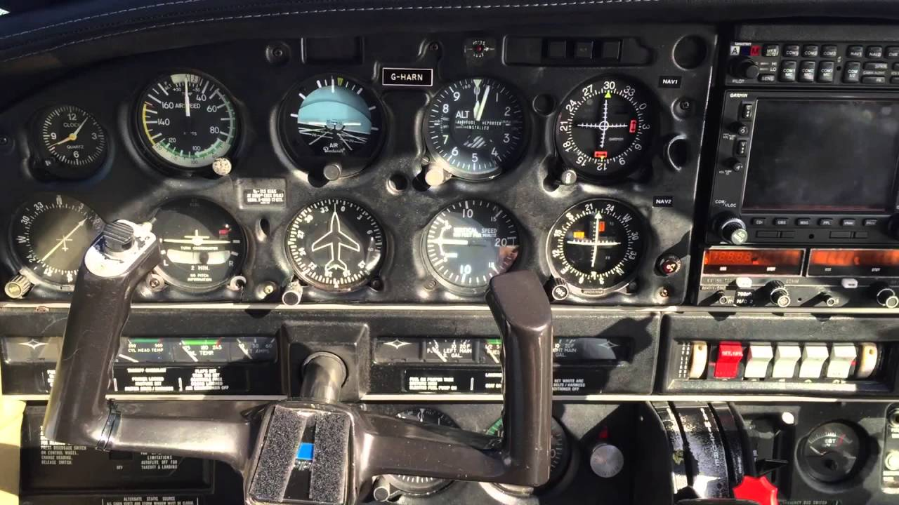 small resolution of pa 28 instrument panel