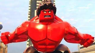 Video Lego Marvel Vingadores #35: Como Desbloquear o Hulk Vermelho - Xbox One Gameplay download MP3, 3GP, MP4, WEBM, AVI, FLV Oktober 2018