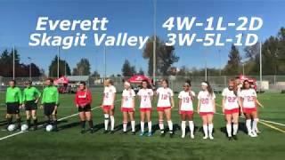 EvCC vs Skagit Valley Women's Soccer HIGHLIGHTS October 9 2019