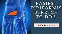 BEST Piriformis Muscle Stretch For Low Back Pain, Hip Pain & Sciatica!