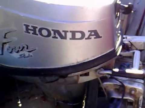 Honda 8 hp outboard motor 1999r four stroke 4 suw for How to winterize a honda 4 stroke outboard motor