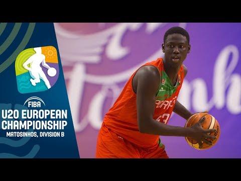 Belgium v Portugal - Full Game - FIBA U20 European Championship Division B 2019