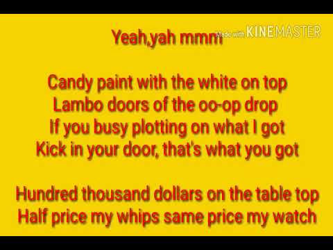Candy paint lyrics