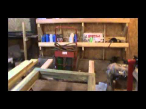 wooden truck bed frame build part 1 - Truck Bed Frame