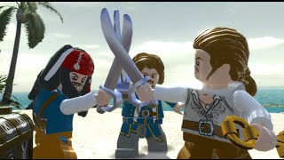 LEGO Pirates of the Caribbean Walkthrough Part 9 - Isla Cruces (Dead Man