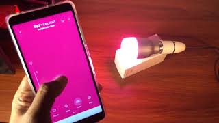 Smart LED Bulb - Xiaomi Yeelight YLDP02YL