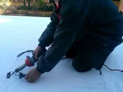 Impermeabilizaci n lamina pvc impermeabilizar techo - Tejados de pvc ...