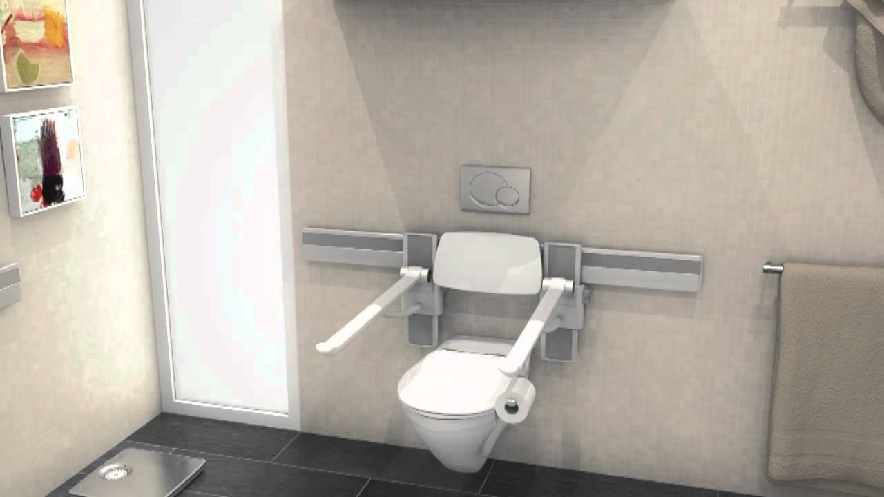Pressalit Care PLUS - Toilet Seats & Support Arms - Overview ...