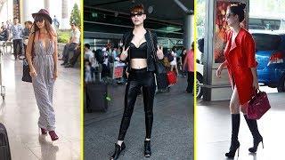 """Loạt sao Việt chọc cười khán giả với gu thời trang """"thảm họa"""" nhìn """"lố bịch"""" quá mức khi ra sân bay"""