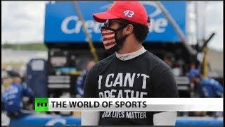 NASCAR driver says 'don't bring your rebel flag'