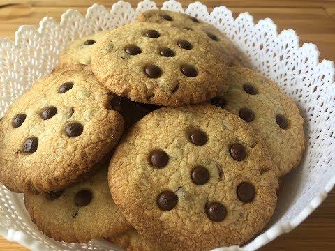 Como hacer galletas de chocolate. Faciles y rapidas