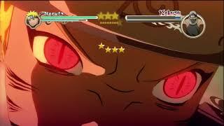 Naruto Ninja Storm 2 - Naruto VS Kakuzu (Story Battle S-Rank)