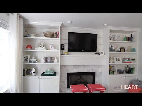 DIY Built-ins Part 2   withHEART