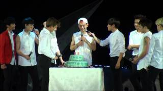 140921 EXO TLP in Beijing CHEN's Birthday Celebration