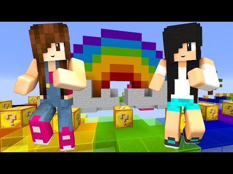 Minecraft Lucky Block - CORRIDA COLORIDA