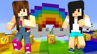 Minecraft Lucky Block - CORRIDA COLORIDA