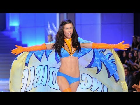 Adriana Lima slays Victoria's Secret Fashion Shows