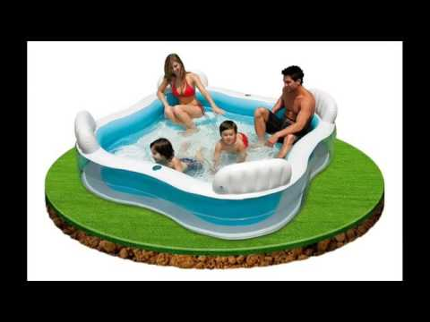 Intex Swim Center Family Lounge Pool Family Pool Fun Pools Intex Play Center Pool Youtube
