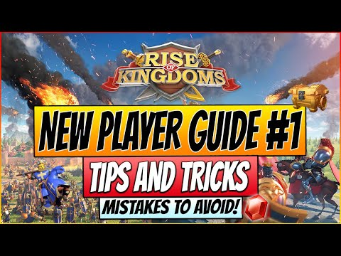 Rise of Kingdoms - NEW PLAYERS GUIDE 2020 - Tips & Tricks for early Gameplay and Commanders!