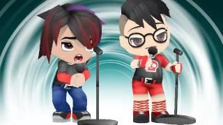 Buddypoke characters singing Dark Horse (Katy Perry)