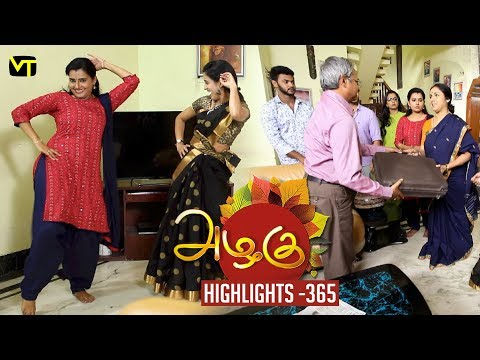 Azhagu Tamil Serial Episode 365 Highlights on Vision Time Tamil.   Azhagu is the story of a soft & kind-hearted woman's bonding with her husband & children. Do watch out for this beautiful family entertainer starring Revathy as Azhagu, Sruthi raj as Sudha, Thalaivasal Vijay, Mithra Kurian, Lokesh Baskaran & several others.  Stay tuned for more at: http://bit.ly/SubscribeVT  You can also find our shows at: http://bit.ly/YuppTVVisionTime  Cast: Revathy as Azhagu, Sruthi raj as Sudha, Thalaivasal Vijay, Mithra Kurian, Lokesh Baskaran & several others  For more updates,  Subscribe us on:  https://www.youtube.com/user/VisionTimeTamizh Like Us on:  https://www.facebook.com/visiontimeindia