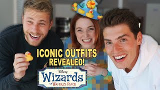 Wizards Of Waverly Place Outfits Revealed (w/Jennifer Stone) | Gregg and Cameron