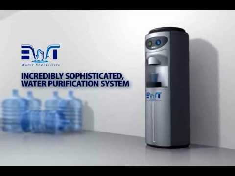 Office water cooler - no more bottles with the EWT plumbed in ...
