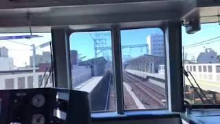 運転再開後の名鉄線(10月13日㈰)