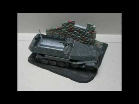 Matchbox 1/76 Sd Kfz 251-1 Hanomag