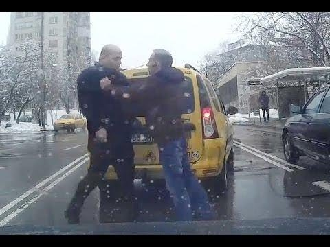 CRAZY FIGHTS ON RUSSIAN ROADS - RAGE Compilation From Russia - BEST 2018 HD