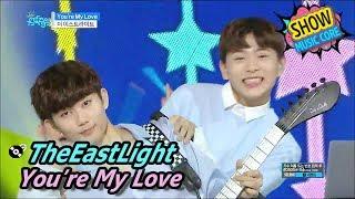 [HOT] TheEastLight - You're My Love, 더 이스트라이트 - 유아 마이 러브 Show Music core 20170603