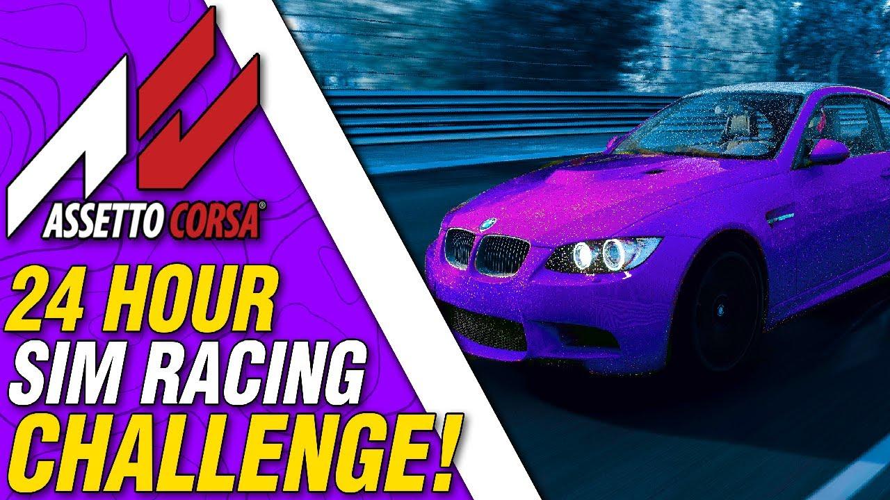 Solo 24 hours Sim Racing Assetto Corsa